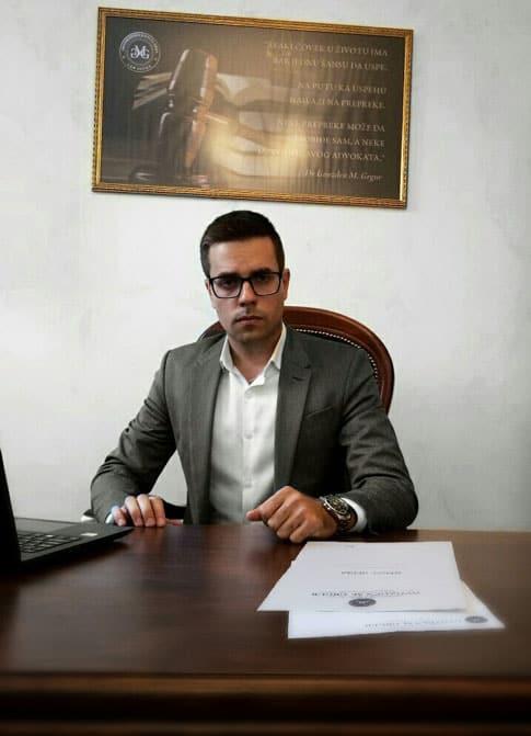 Nemanja Andjelković Advokat u Novom Sadu