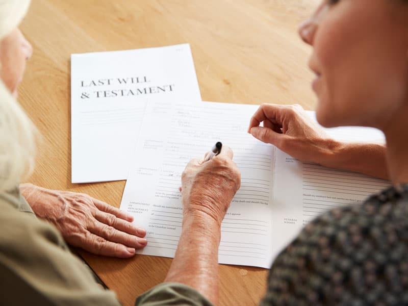 Sastavljanje testamenta