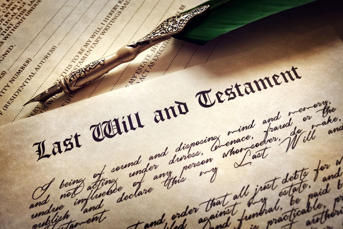 pismeno zavestavanje - testament - Advokat u Novom Sadu