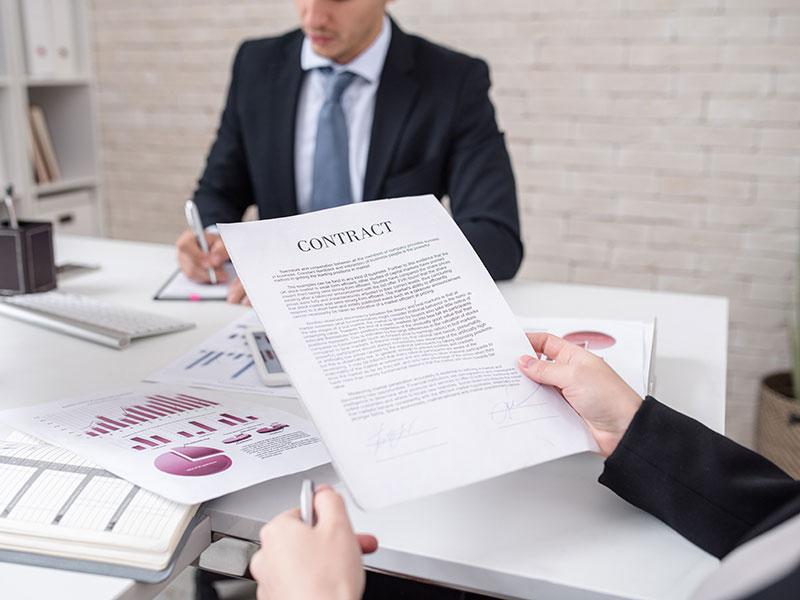 Zakjučenje ugovora - Advokat Novi Sad